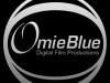OmieBlue print and video logo